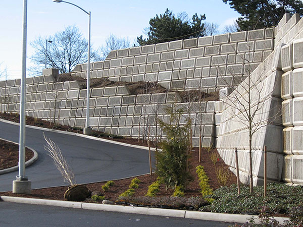 I205 Park and Ride Gravity Wall